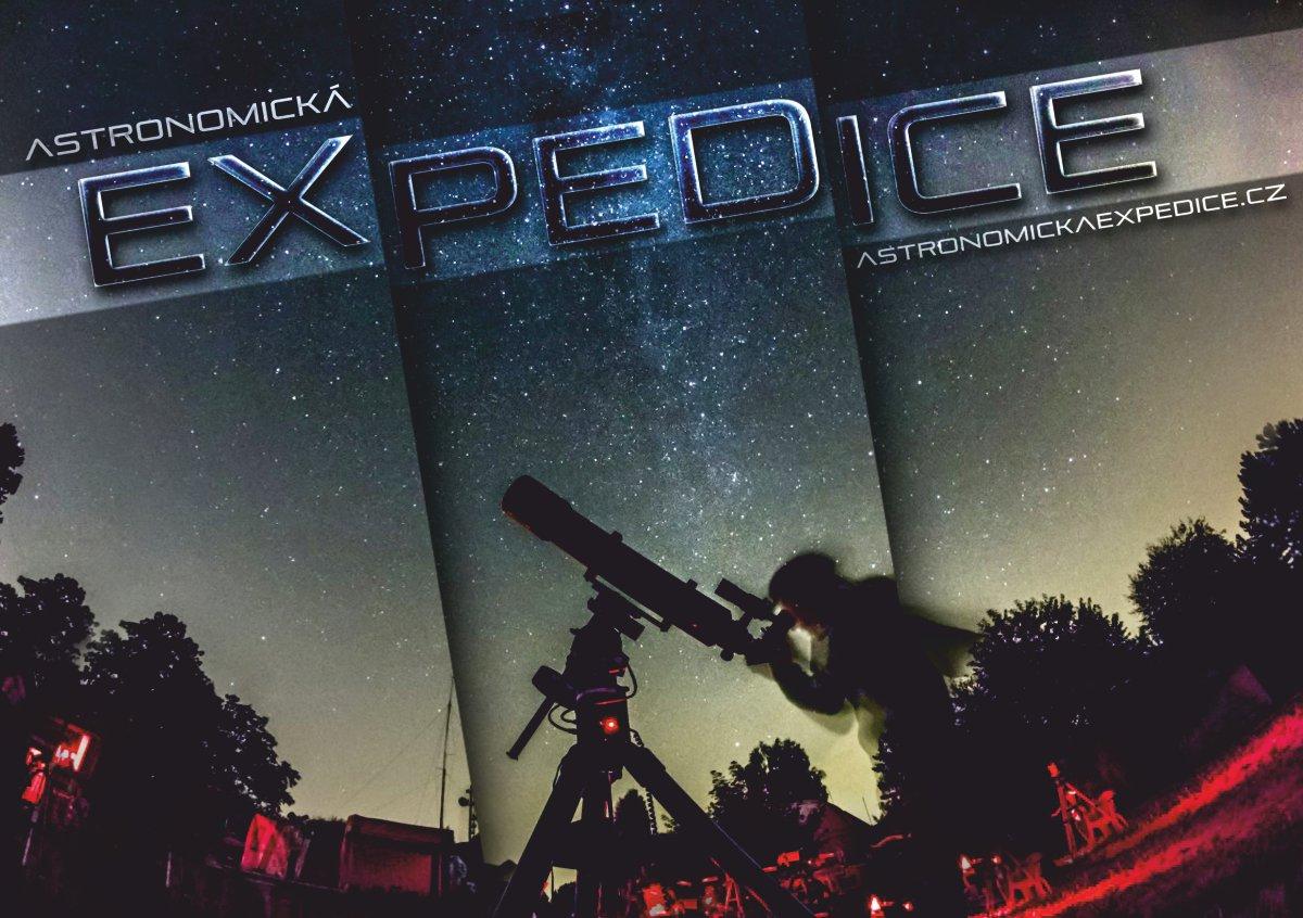 Astronomická expedice propagace